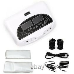 100W LCD Dual Spa Machine Foot Bath 5 Mode Ionic Detox Cell Cleanse Machine 60Hz
