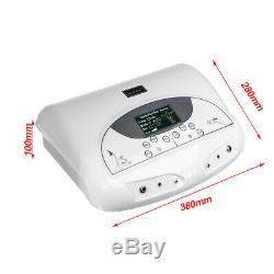 110V LCD Dual Ionic Cell Cleanse Detox Foot Bath Spa Machine+Infrared Waistband