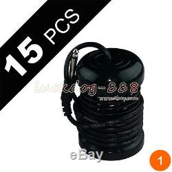 15 Pack Round Black Arrays For Ionic Detox Foot Spa Bath Cell Cleanse Machine