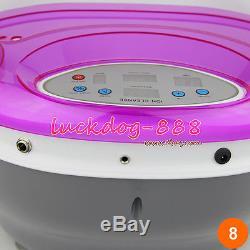 2019 Premium Detox Ionic Ion Foot Bath Cell Cleanse Spa Machine Tub + 4 arrays