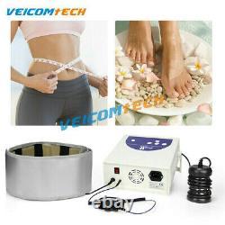 2021 Upgrade Ionic Foot Bath Detox Spa Machine wt/ Basin Far Infrared Waist Belt