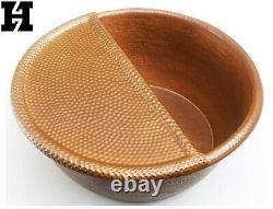 20 Copper Spa Therapy Pedicure Bowls with Foot Rest Spa Bowl Massage Free ship