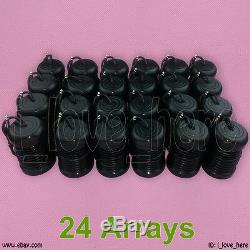 24 Detox Foot Bath Arrays Aqua Spa Ionic Cell Cleanse Black Round Replacement