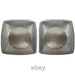 2 Light Weight Square Foot Massage Pedicure Spa Bowls Beauty Salon Spa Tubs