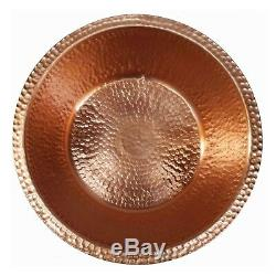 2 Polished Copper Foot Rub Soaking Bath Wash Massage Spa Therapy Pedicure Bowls