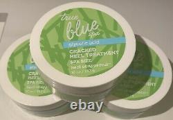 3 Bath & Body Works True Blue Spa Size Cracked Heel Treatment Spa GLYCOLIC ACID