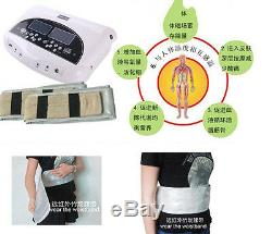 3in1 LCD Pro Dual Ion Detox Ionic Foot Bath Spa Clean Machine Infrared Belt Pads