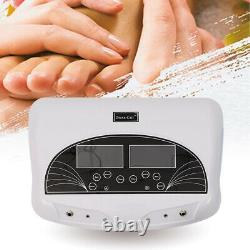 5Mode LCD Pro Dual Ion Detox Ionic Foot Bath Spa Clean Machine Infrared Belt New