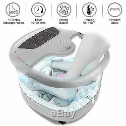 ACEVIVI Foot Bath with Heat &Massage and Bubbles, Foot Spa Massager withMotorized