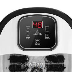 ACEVIVI Foot Spa Bath Massager Bubble with Heat LED Display Infrared Relax Timer