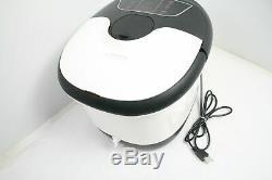 ACEVIVI Foot Spa Bath Massager Motorized Rollers w Heat Bubbles Adjustable Temp