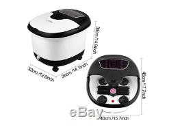 ACEVIVI Foot Spa Bath Massager with Heat and Massage and Bubble Jet Pedicure
