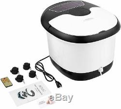 ACEVIVI Portable Foot Spa Bath Massager Set Heat LCD Display Infrared Relaxing