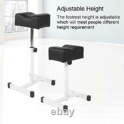 Adjustable Pedicure Nail Footrest Manicure Foot Rest Desk Salon Spa Massage SPA