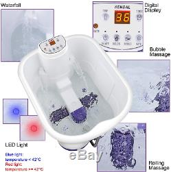 All In One Deep Foot AmpAmp Leg Spa Bath Massager With Motorized Rolling Massag