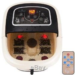 All-in-One Foot Spa Massager With 4 Rollers Ankle Bath Home Heat Therapy Machine