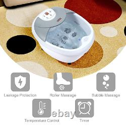 All in one Large Foot Spa Bath Massager WithHeat, Digital time and Temperature Con