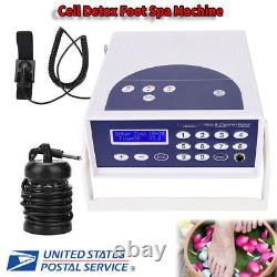Anion Hydrogen Molecule Cell Detox Foot Bath Spa Machine Care Instrument New