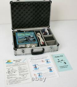 Aqua-Chi Professional Series 11 Detox Bio Foot Bath Hyrdo-Stimulation Spa w Case