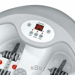 Beurer Multi-Function Luxury Foot Bath Spa Light Therapy Massager with Heater FB50