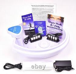 Blue Hydro Model Automatic Detox Foot Spa Bath with 2 Super Duty Arrays