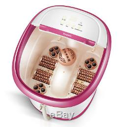 Carepeutic Deluxe Hydro Therapy Foot and Leg Spa Bath Massager KH307P02