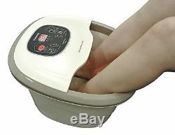 Carepeutic Deluxe Hydrotherapy Foot and Leg Spa Bath Massager KH301