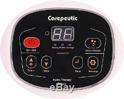 Carepeutic Motorized Hydro Therapy Foot and Leg Spa Massager Hot Tub Foot Spa
