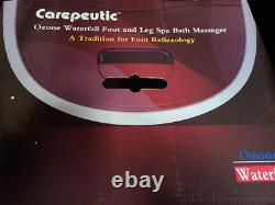 Carepeutic Ozone Waterfall Foot and Leg Spa Bath Massager KH2981015 OPEN BOX