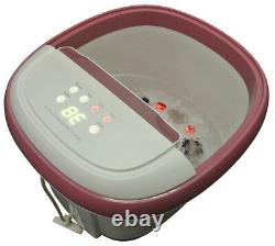 Carepeutic Touchscreen Oxy-Energized Water Jet Foot and Leg Spa Massager