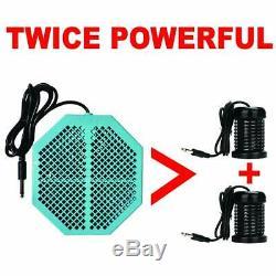 Cell Spa 4 Pack CS-900 Twice Powerful 6.5 x 5.5 Ion Detox Foot Bath Arrays