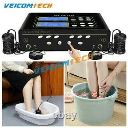 Cell Spa Foot Detox Spa Bath Dual Ionic Foot Bath Digital LCD Display Waist Belt