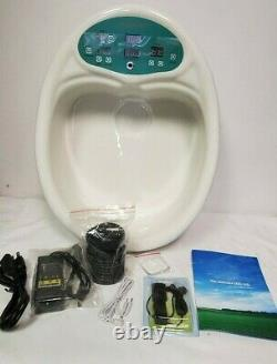 Cell Spa Ion Cleanse Detox Foot Spa with Tub H-8804 BRAND NEW