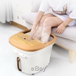 Cloris Foot Spa Bath Massager with Infrared Heat and Bubble, Remote Control