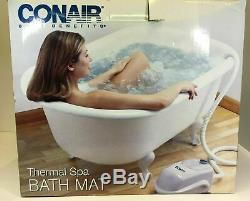 ConairThe Ultimate Full Body Thermal Spa Bath Mat Back & Foot Massagers Jacuzzi