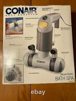 Conair Body Benefits BTS2 Deluxe Hydro Bath Spa Tub Jet Massager Open Box