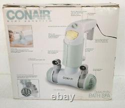 Conair Body Benefits Delux Bath Spa Dual Hydro