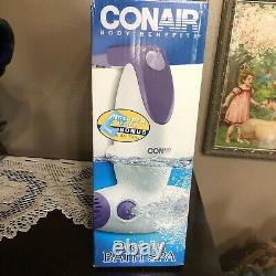 Conair Body Benefits Dual Jet Bath Spa BTS7W With Box And Directions