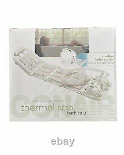 Conair Body Thermal Spa Bath Mat Neck Foot Vibrating Massage Control Open Box