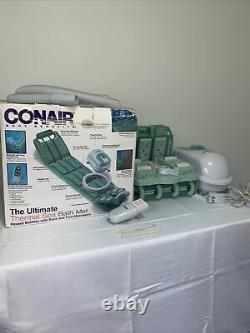 Conair The Ultimate Full Body Thermal Spa Bath Mat withBack&Foot Massagers unused