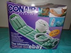 Conair Thermal Spa Heated Massaging Bath Mat withRemote Back & Foot Massager