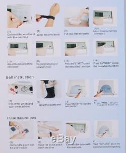 Detox Cell Ion Ionic Aqua Foot Bath SPA Cleanse Machine Fir Belt Box FDA CE