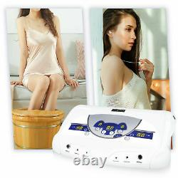 Detox Foot Bath Dual Ionic Cell Relax Spa Massager Machine LCD MP3 Music Player