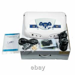 Detox Foot Bath Dual Ionic Cell Relax Spa Massager Machine LCD Music Player 805A