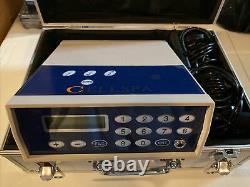 Detox Foot Bath Spa Machine Kit Cell Ion Ionic Aqua withCase Cleanse Fir Belt