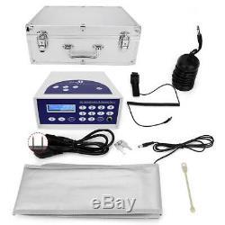 Detox Foot Bath Spa Machine Kit Cell Negative Ionic Aqua Case Cleanse With Belt