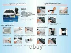 Detox Ionic Foot Bath Spa Clean Machine 5 adjustment mode positive &negative ion