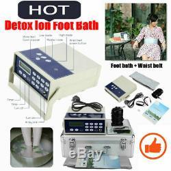 Detox Machine Cell Ion Ionic Aqua Foot Bath SPA Cleanse Machine Fir Belt UK