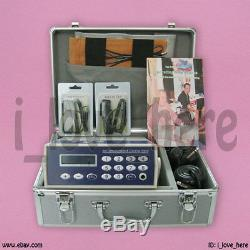 Detox Machine Cell Ion Ionic Foot Bath Spa Chi Fir Belt Dhl Ship 1 Yr Warranty