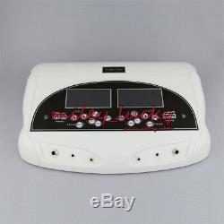 Dual Detox Ionic Cleanse Foot Bath Spa Aqua Spa Machine 2 Arrays Acupuncture Pad